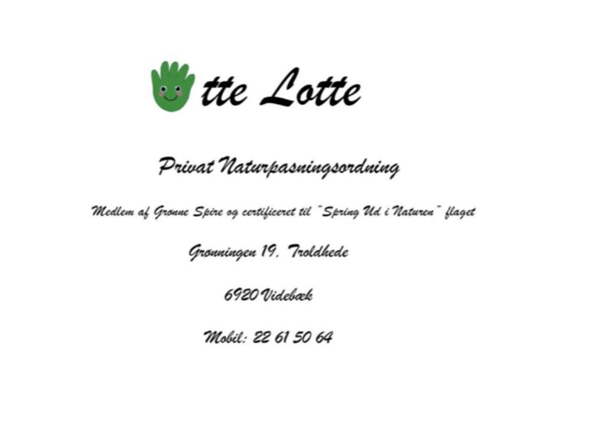 Otte Lotte - Privat Naturpasningsordning