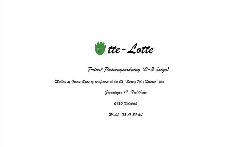 Charlottes Pasningsordning - 1 ansat