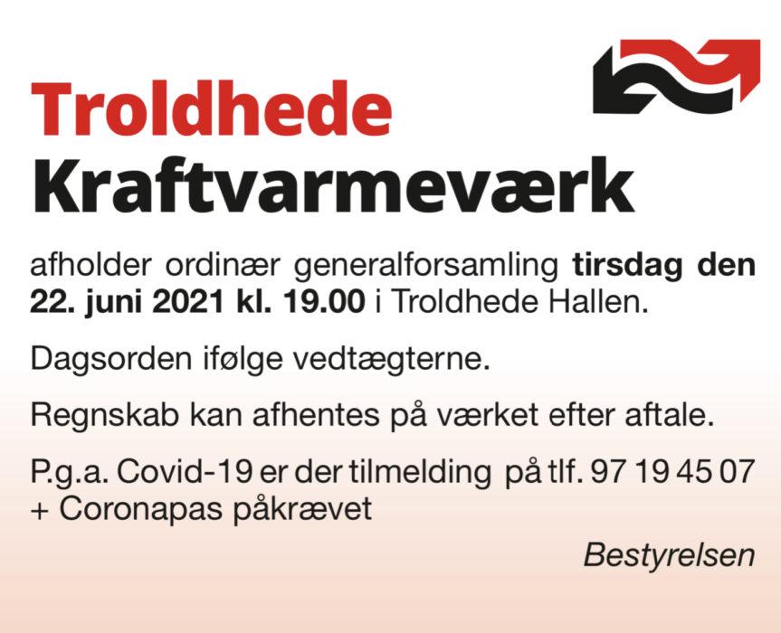 Generalforsamling i vandværket @ Troldhede hallen | Videbæk | Danmark